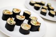 Rå sushi rå maki makiruller