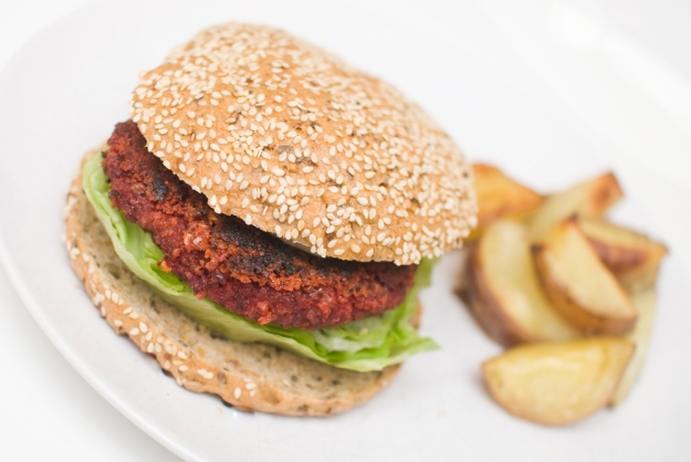 vegetarburger veganburger veggisburger oppskrift